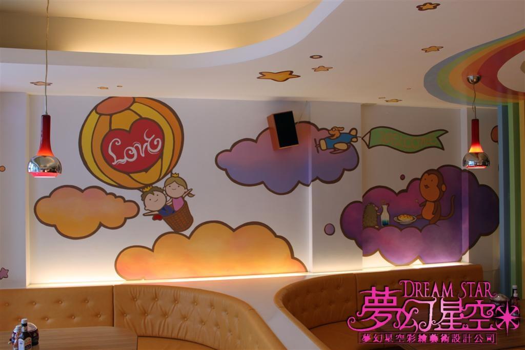 幼儿园主题墙宇宙星空